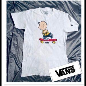 VANS Peanuts T-shirt sz S